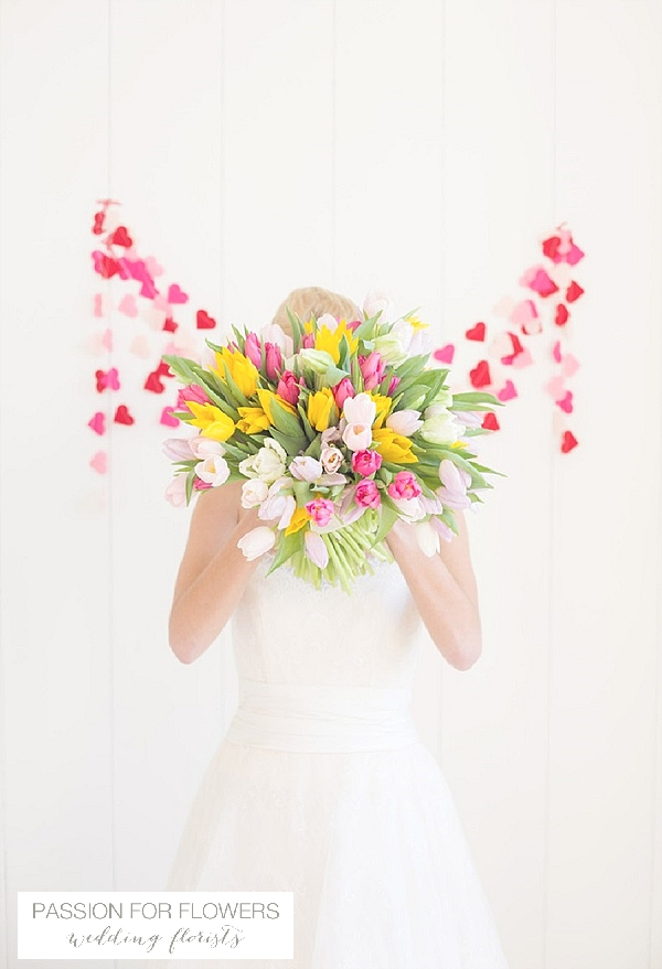 Bright spring wedding flowers passion for flowers