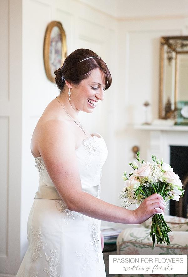 bridal bouquet Packington Moor Wedding Flowers