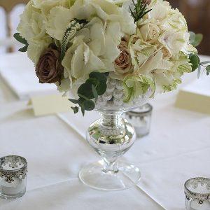 Staunton Harold Wedding Centrepiece Flowers