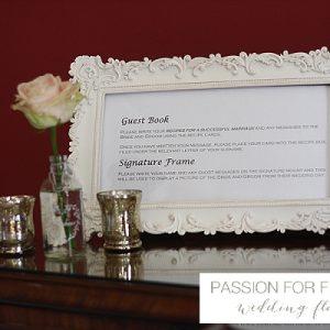 Staunton Harold Wedding Guestbook