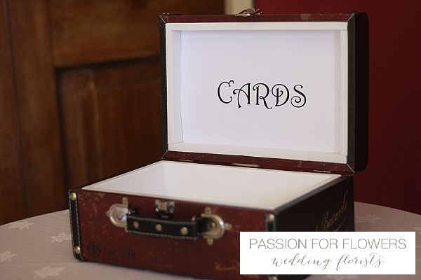 Staunton Harold Wedding Cards Box