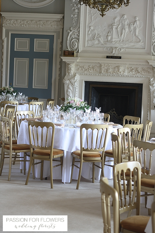 Stoneleigh Abbey Wedding Flowers