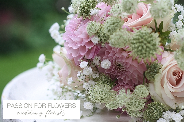 Stoneleigh Abbey Wedding Bouquet Summer