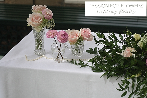 Stoneleigh Abbey Wedding Ceremony Flowers