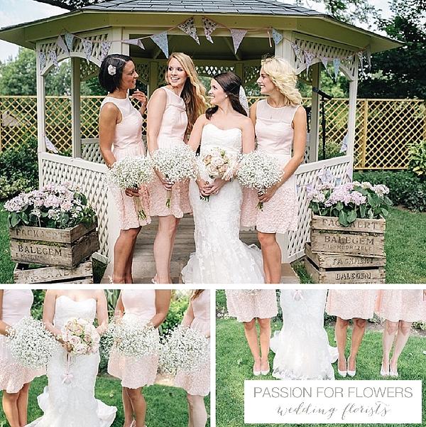 Warwick House  Wedding Outdoor Ceremony Flowers