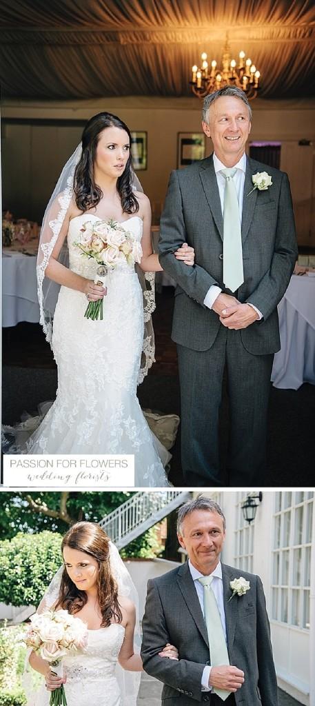 Warwick House  Wedding Flowers