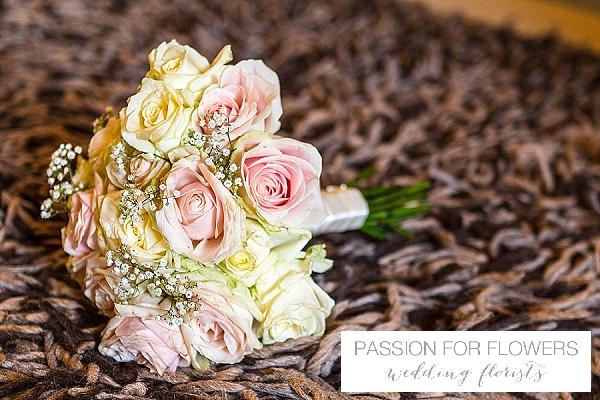 alrewas hayes pink rose wedding bouquets flowers