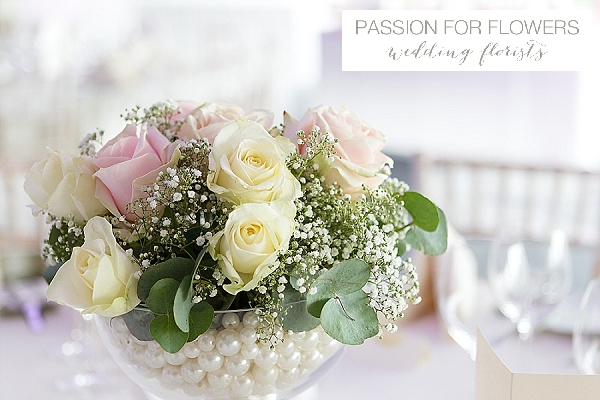 alrewas hayes footed vases  wedding centrepiece flowers
