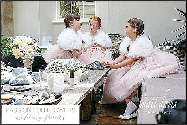 barnsley house wedding flower girls