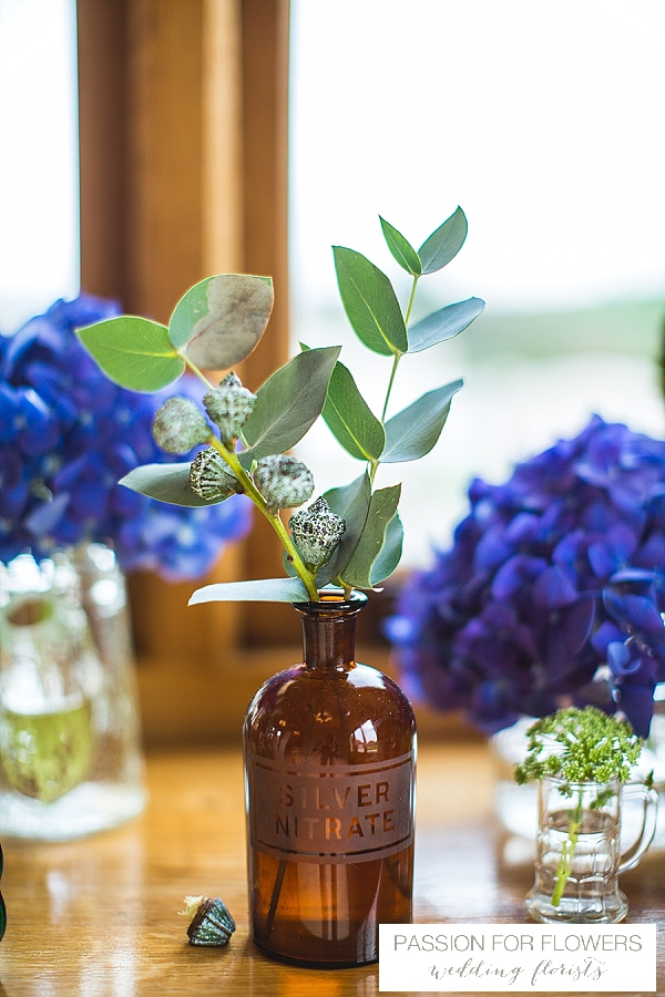 rustic wedding flowers in bottles passion for flowers