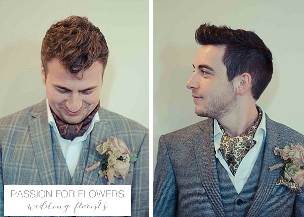 gay marriage buttonholes