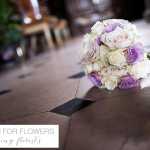 chillington hall purple wedding bouquet flowers