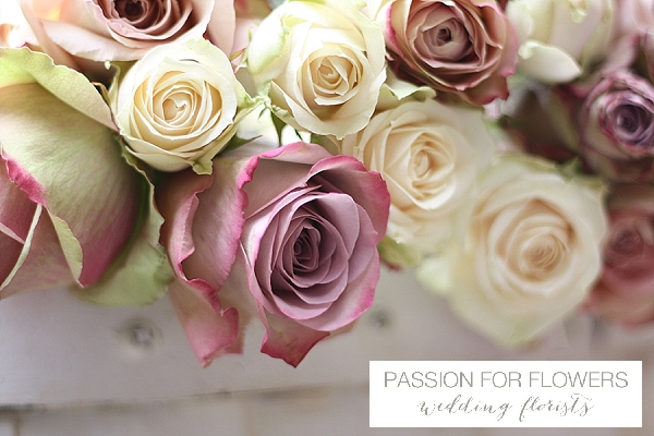 dusky pink wedding flowers