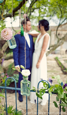 hanging bottles wedding flowers passion for flowers