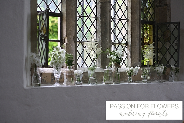 hidcote manor church wedding flowers