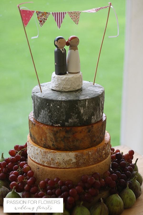 cheese wedding cake hidcote manor