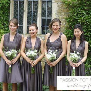 hidcote manor bridesmaids bouquets wedding flowers