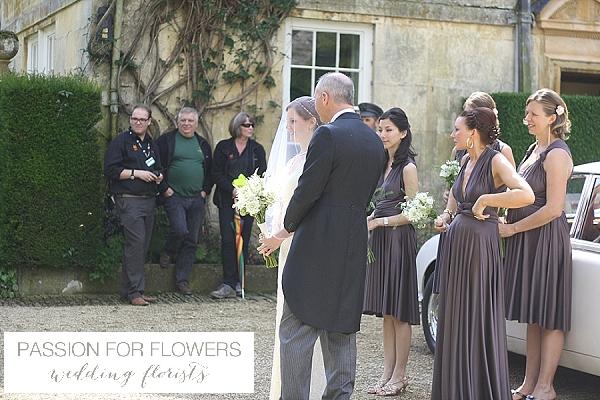 hidcote manor chapel wedding flowers