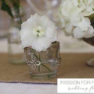 hidcote manor white summer wedding flowers