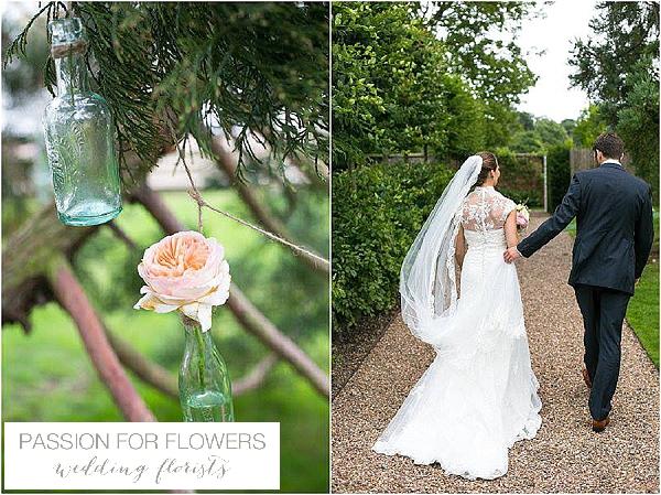 iscoyd park hanging wedding flowers