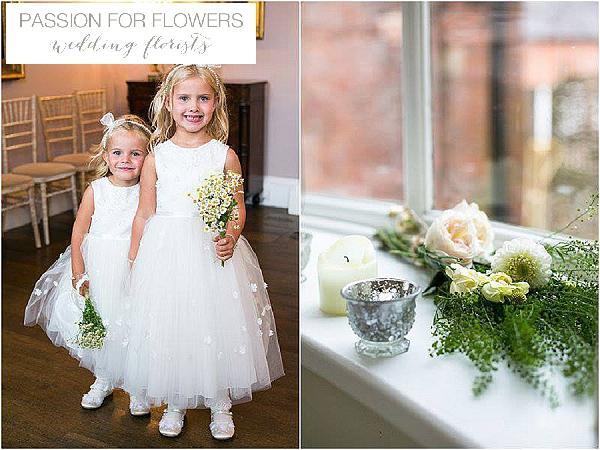 bridesmaids posies daisies