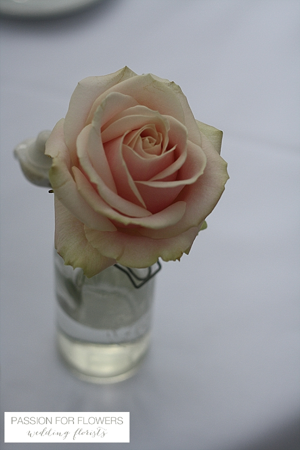 kilworth house blush pink rose wedding flowers