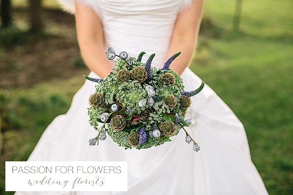 kingscote barn wedding green bouquets flowers