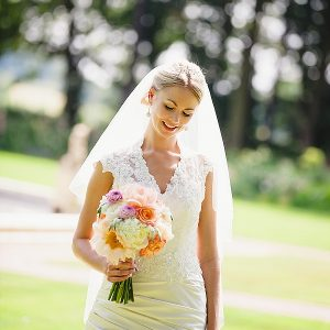 moxhull hall wedding bride bouquets