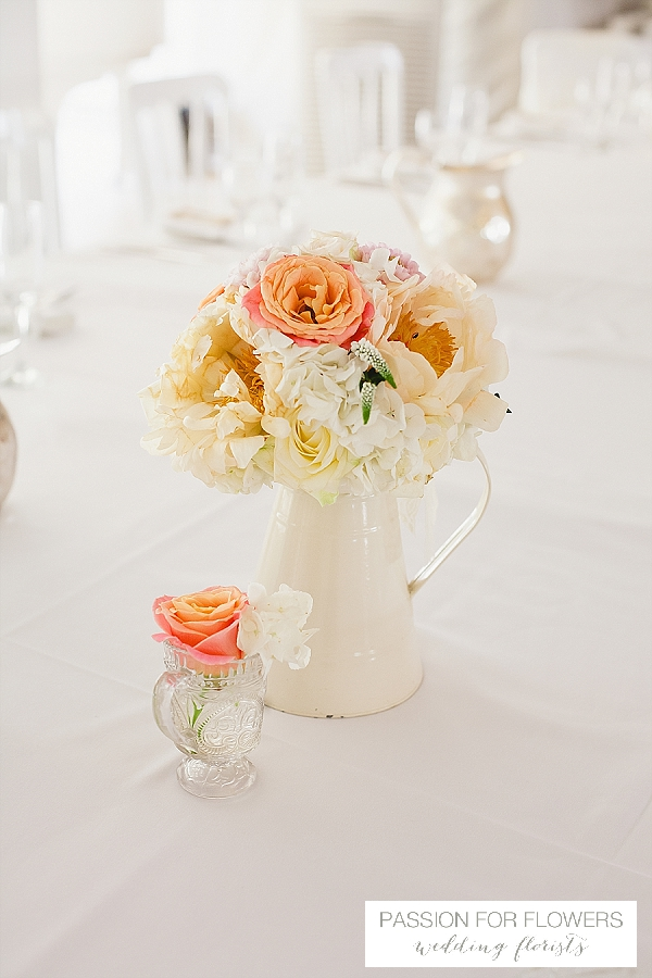 moxhull hall wedding centrepieces  flowers