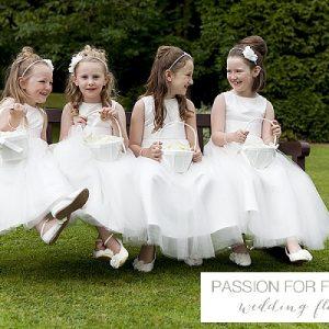 newhall wedding flower girls