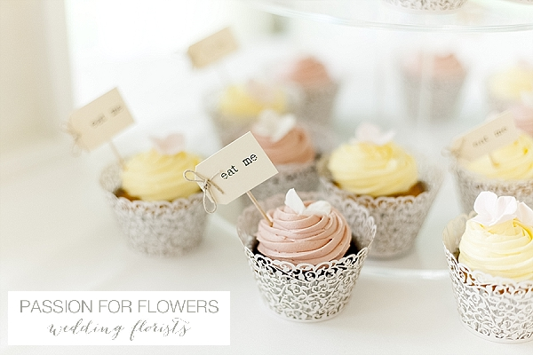 new hall wedding cupcakes