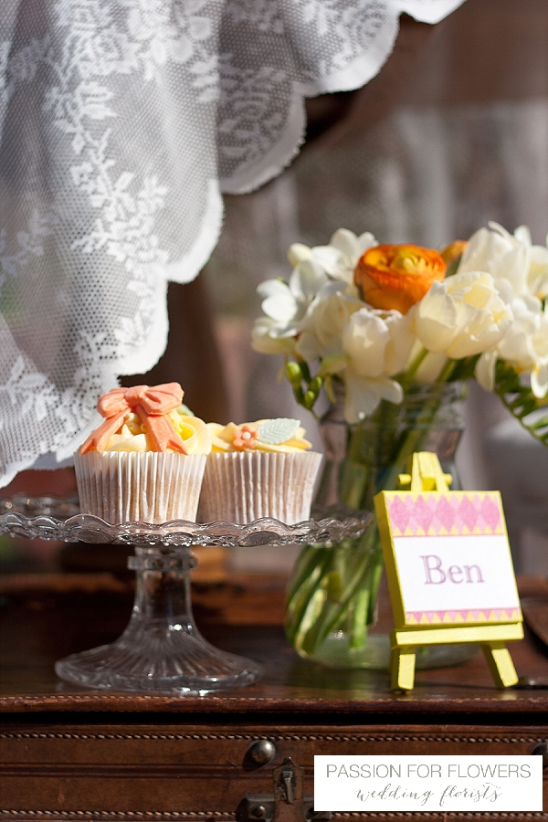 orange dessert table wedding flowers passion for flowers