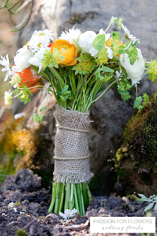 orange wedding bouquet flowers passion for flowers