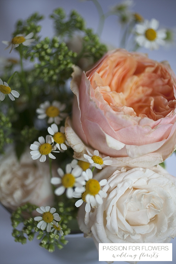 peach david austin roses wedding flowers passion for flowers
