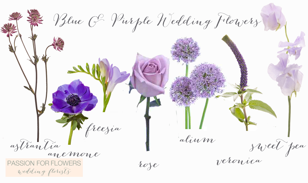 Purple Wedding Flowers Passion For Flowers