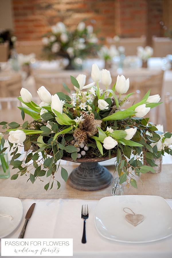 the moat house dorsington wedding flowers centrepieces