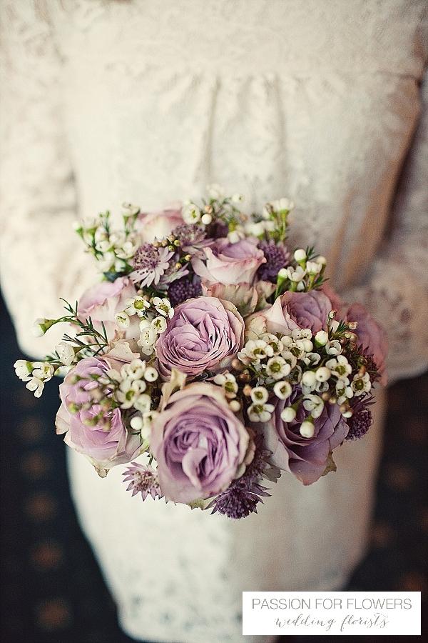 vintage roses wedding flowers