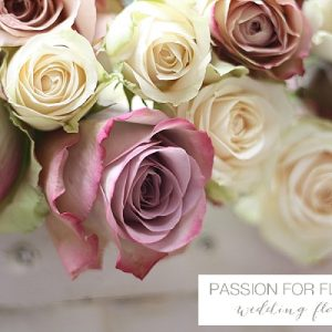memory lane vintage roses wedding flowers