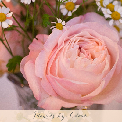 wedding flowers by colour