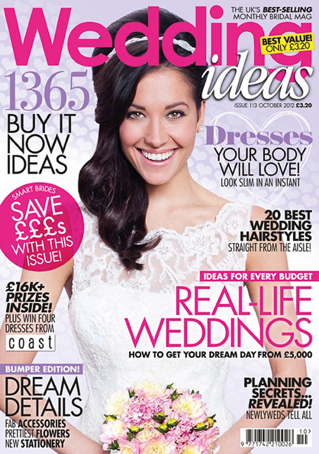 wedding ideas magazine front cover