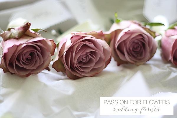 dusky pink vintage roses button holes