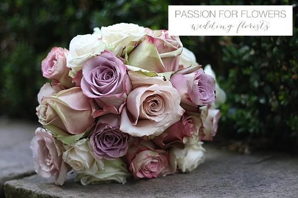 welcombe hotel wedding flowers dusky pink roses
