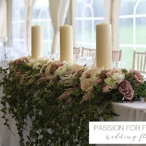 wethele manor wedding flowers