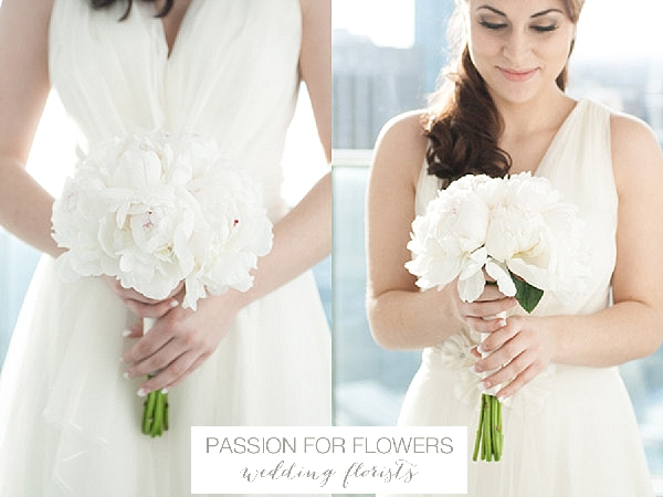 white peony bridal bouquets wedding flowers passion for flowers
