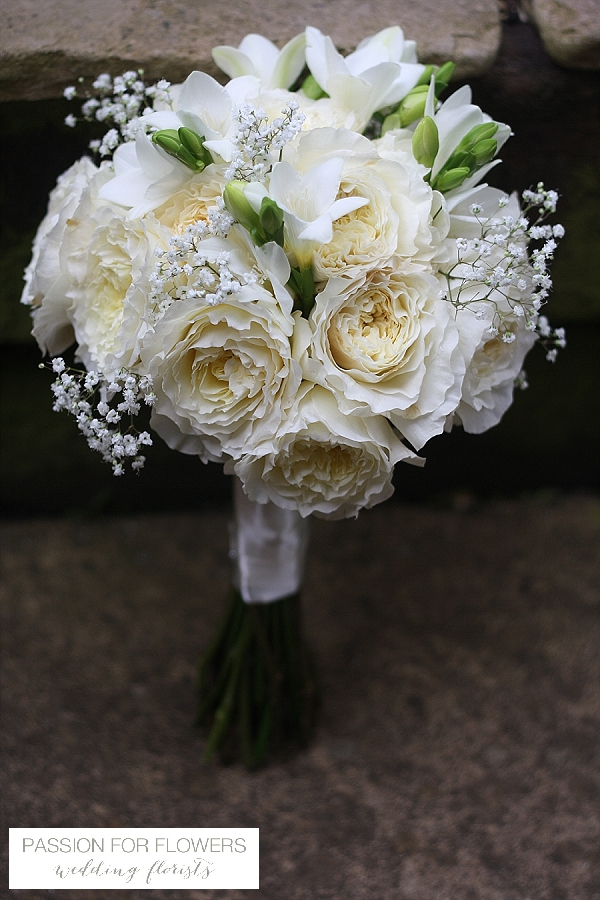 white david austin roses wedding flowers passion for flowers