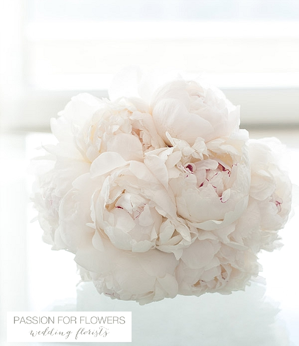 white peony wedding flowers passion for flowers