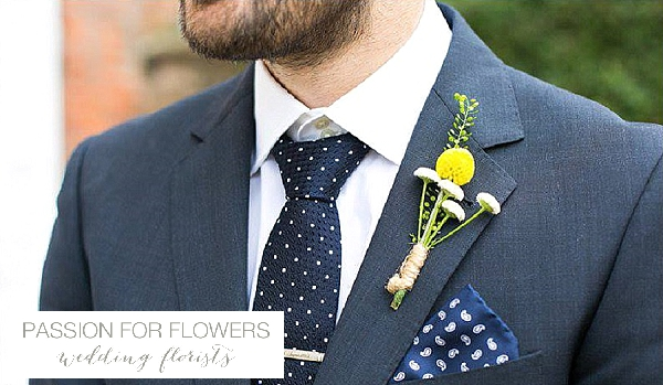 yellow buttonhole wedding flowers passion for flowers