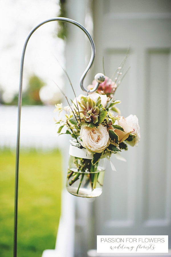 South farm ceremony wedding flowers shepherds crooks
