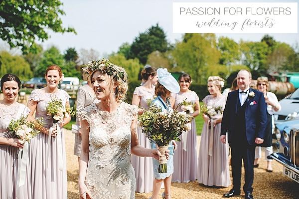 South farm  rustic wedding flowers
