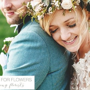 South farm wedding flower crowns